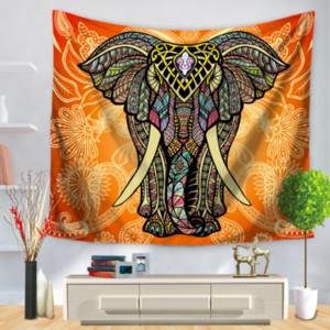 Elefante tailandês yoga tapeçarias decorativas tapeçaria tapeçaria tapeçaria do banheiro ao ar livre pano de piquenique home decor toalha de mesa presente