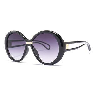 nouvelle marque de mode desinger suglasses unti-uv 400 lunettes de protection de lentille ronde avec boîte originale 20035