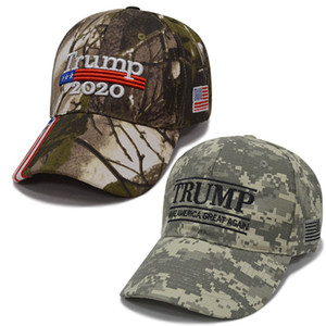 Make America Great Again Hat Donald Trump Republican Snapback Hat Sports Camouflage Hats USA Flag Baseball Caps Mens Womens Cap BH2098 TQQ