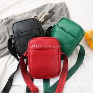 Marca crocodilo sacos de ombro Peito Pacote de Moda Bolsas Individual Backpack cintura Preto Vermelho Moda Bag Belt Men Messenger Bags frete grátis