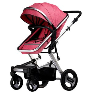 Kidlove Baby 2 in 1 baby Stroller Portable Anti-shock Fold-able Stroller High land-scape Fashion Stroller