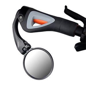 Vélo Rétroviseur à 180 degrés Rotatif réglable Grip Rearview verre guidon vélo