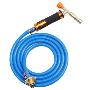 Liquefied Gas Welding Torch Kit with 2.5M Hose for Soldering Cooking Brazing Heating Lighting
