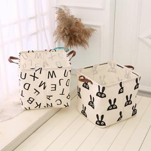 bolsa de almacenamiento oldable superior baño impermeable ropa sucia caja de almacenamiento de ropa de algodón y lino bolsa de almacenamiento de juguetes para niños EEA271