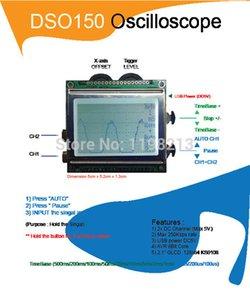 DSO150 الرقمية نطاق الذبذبات عدة AVR الأساسية مع التحقيق