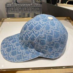C D designer cap cowboy jeans men baseball cap letter print holiday fashion blue black mens designer baseball caps hats