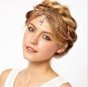 Европа и Соединенные Штаты внешняя торговля ювелирные изделия Оптовая ретро готический флэш-Алмаз роскошные жемчужные волосы группа мода невеста тиара волосы acce