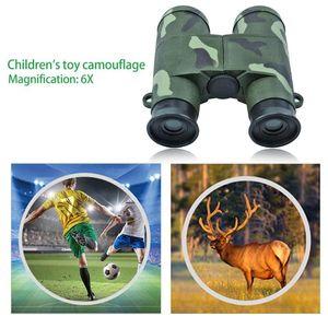 6X التكبير التمويه الأطفال تلسكوب مناظير للبصريات لعبة لعب التعليم للأطفال في الهواء الطلق الرياضة هدايا