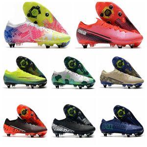 2020 zapatos Mercurial vapores 13 XIII Elite SG-PRO AC CR7 Ronaldo NJR Neymar Jr. Mujer de Boys fútbol Botas de fútbol grapas del US6.5-11