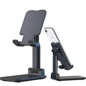 2020 desktop Tablet Titular Tabela Bracket celular dobrável estender o suporte Desk Celular Stand Holder Para iPad iPhone ajustável