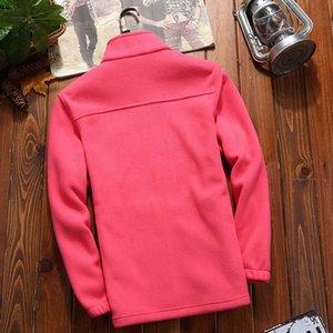 2019 New Style Outdoor Fleece Men's And Women's Polar Fleece Autumn And Winter Breathable Wind-Resistant Cardigan Jacket
