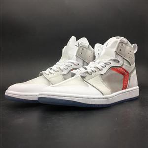 2020 de la moda 1 El zapato Zapatos de baloncesto Cirujano 1s Elemento 87 P.J.Tucke del diseñador único caliente Ins blanca para hombre de las zapatillas de deporte con las cajas