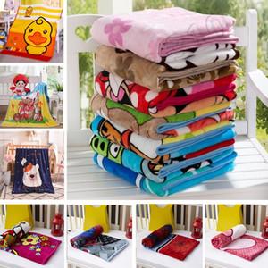 New Kids Couvertures Flanelle spide / ours / chat / chien chaud dessin animé Couvertures bébé Couvertures Lisser Flanelle Literie emmailloter Couverture 1,0 * 1,4 M