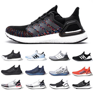 Adidas Ultraboost ISS US National Lab X Ultra Boost 20 Mens Running shoes Triple Black White 6.0 Dash Grey 4.0 5 Black White Tech Indigo Outdoor Men women sports designer sneakers