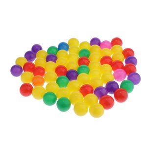 100Pcs Ocean Ball Funny Baby Kids Swim Kid Pool Toys Soft Plastic Ocean Ball