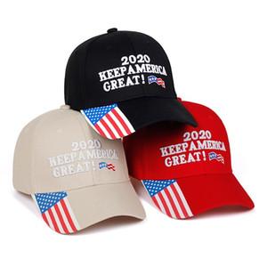 Donald Trump 2020 US Flag Camouflage Baseball Cap Embroidered Baseball Cap Sun Hat CNE Fast Shipping