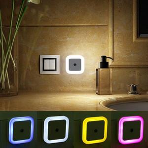 BRELONG Sensor Sensor Control Night Light Mini Novità Quadrato Camera da letto Lampada Regalo per bambini Romantico USA 1pc