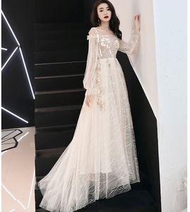Вечерние платья женские, модные юбки Fairy Dream 2019 года, благородные длинные студенческие сетчатые красные платья, банкетные юбки, промо-акция по низким ценам от производителя