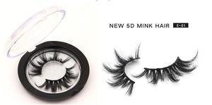 2020 MAIS NOVO 25mm 3D Mink cílios 5D Mink cílios naturais cílios postiços Big Volumn Mink Lashes Maquiagem Luxo Lashes dramáticas