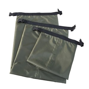 1.5L 2.5L 3.5L 3Pcs Set Nylon Waterproof Bags Carrying Valuable Perishable 30D DuPont Cordura Coated Silicon Bag High Quality