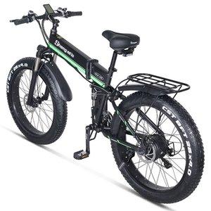 Совершенно новый электрический велосипед 1000W электрический 4.0Fat шины велосипеда 48v Cruiser Электрический велосипед