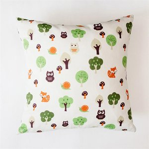 وسائد مصممة مجانا وسادة المنزل الحلو وسادة غطاء القطن الكتان رمي أغطية المنزل أريكة زخرفية