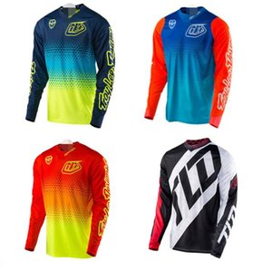 2016 TLD speed drop clothing quick-drying T-shirt bicycle motorcycle cycling clothing long-sleeved shirt men's summer off-road cycling cloth