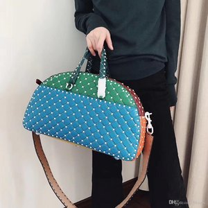 Women luxury denim Messenger Bag Fashion Crossbody Shoulder Bags Handbags Famous Brands diamond lattice chain shoulder Messenger bag