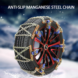 Chains inverno Anti-Skid 1 pc pneu da roda de Neve Anti skid Chains para as cadeias anti derrapantes Truck Car SUV emergência Universal Inverno para pneus
