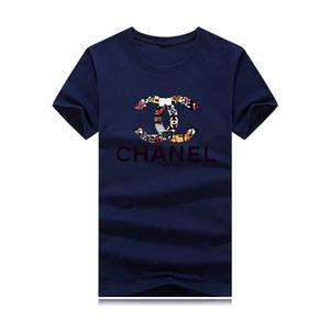 2020 Neue Designer-T-Shirts für Männer Tops T-Shirt der Männer Kleidung Luxuxentwurf Shirt Kurzarm-Shirt Frauen Kleider Größe S-4XL Street