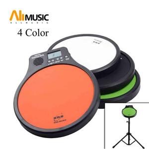 ENO Digital Drumming Practice Drum Pad With Metronome 3 in 1 For Drummer Black Metronomer Electronic Practise Pad