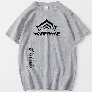 camisa Warframe t Digital Extremes manga curta encabeça jogo Popular tee Colorfast impressão vestido Roupa unisex Todos camiseta de cor