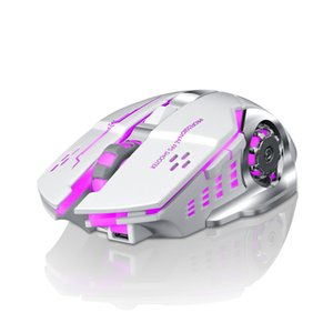 Mouse da gioco wireless 2.4GHz Wireless Connection Ergonomics Mouse ottico 2400 dpi con 3 Shift 10m Mouse professionale senza fili di gioco DHL libero