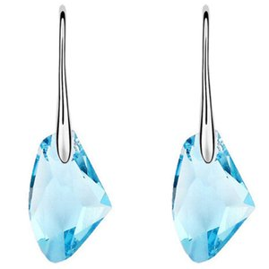 joyas de cristal austriaco de Europa y América que deseen hacha pendientes rocosas pendientes de la personalidad simples libres del envío