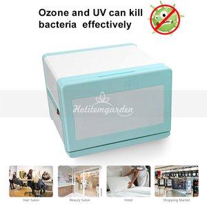 8L esterilizador UV Desinfección de Gabinete Mini Ozono Esterilización Gabinete 110V 220V del enchufe del salón del balneario equipo de la belleza