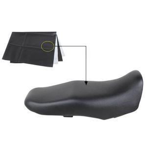 90 * 70 cm Copertura del sedile in pelle da moto resistente all'usura Scooter Usura Universale Motorbike Scooter Auto Pelle Pelle Pelle Pelle Protector Blackwear-resistentissimo UNI