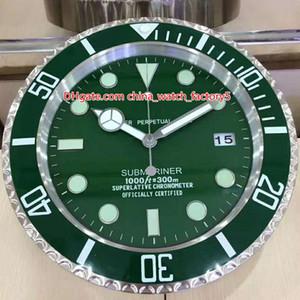12 Style de haute qualité Marque Montre bracelet Horloges murales 34CM x 5 cm Mouvement Quartz pour 1,5 kg Modèle 116710 116610 116681 Horloge Montres Horloges