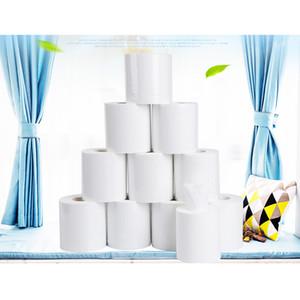 80g Papel higiénico Papel Hotel Apartamento Habitación WC mano de toallas de papel de pulpa de madera con núcleo de rollo de papel XD23365