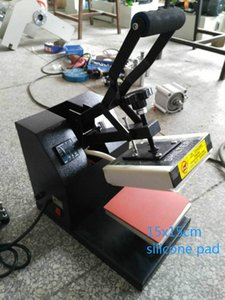 Alta qualidade resistente flexível 15 * 15 centímetros de borracha de silicone Pad para imprensa do calor Máquina de Transferência, Quanto à espessura de 0,8 centímetros, temperatura: 0-399
