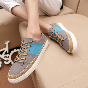 Cheap 2019 Men Casual shoes Sale New Style Women Outdoor Casual Leather Canvas Shoes Free Shipping A0125