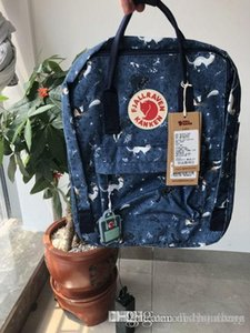 Top Camouflage Fjallraven Kanken Large Capacity Blue Sports Bags Backpacks Waterproof Universal Canvas Bags New Computer Bags Online