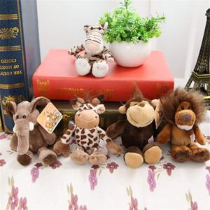 Jungle Animal Series Pony Elefant Plüschtier Tiger Fawn Puppe Plüschtiere beste Geschenk für Kinder
