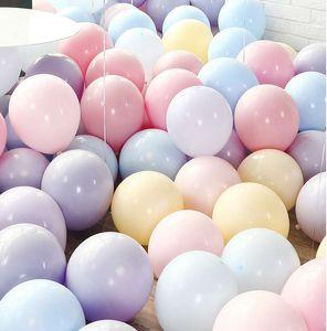 100 piezas de 10 pulgadas banquete de boda globos juguetes para niños del impulso del aire Nueva boda de la decoración de alta calidad inflable Bolas aire libre del envío