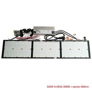 320w Quantum Vorstand V2 Samsung Lm301b 3000k 3500k 4000k Mix Deep Red 660nm Quantum-Brett für Led wachsen Licht