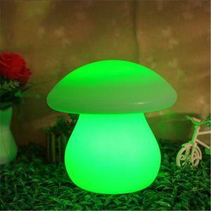 lampada da tavolo Grande fungo LED luminoso bancone bar lampada personalizzato lampada da tavolo carica heterochrosis bling telecomando