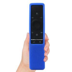Remote Control Silicone Case Cover Frame for Samsung TV UA55KU6300J UA55KU6600J Random Color Of Pe Bag Packing Tape