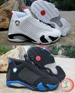 14 XIV Sup weiß schwarz Royal Mens Basketball Schuhe 14 s Candy Cane Varsity Red Last Shot gezüchteten Mann Designer Sport schleicht US 7-13