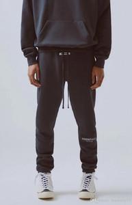 Temor de Deus dos homens do desenhista Calças Calças 19FW Essentials High Street para homens FOG Reflective Sweatpants Mens Branded Hip Hop Streetwear