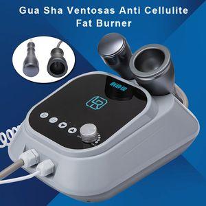Masajeador vibrante del meridiano de la rastra de masaje de cuerpo completo eléctrica raspado Gua Sha Ventosas Anti Celulitis Fat Burner Instrumento CE