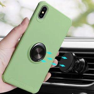 소프트 TPU 실리콘 케이스 아이폰 11 프로 11 프로 최대 회전 링 킥 자동차 홀드 마운트 충격 방지 케이스 아이폰 XS MAX에 대한